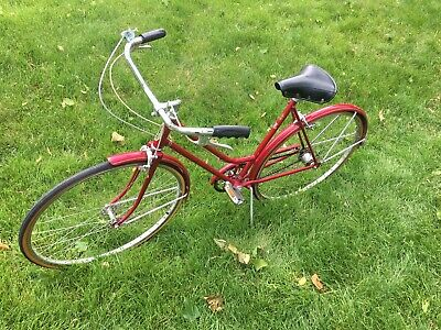 76dbb3efc91 RARE SCHWINN SUBURBAN WOMENS BIKE CHICAGO STURMEY ARCHER ENGLAND 3 Speed  Rare
