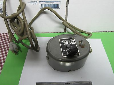 Microscope Part Leitz Vintage Transformer Lamp Illuminator As Is Bin39