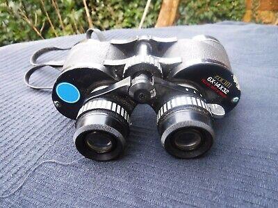Commodore Zoom Binoculars 6X 14x32