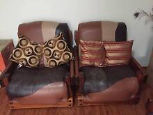 2+2 Seaters Italian Leather Sofa on Sale Westmead Parramatta Area Preview