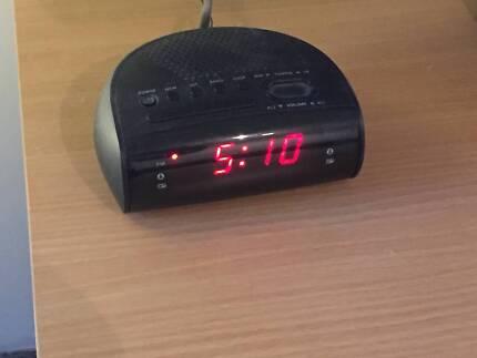 Two digital clock radios