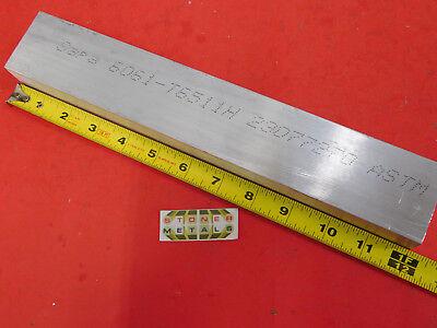 1-14 X 2 Aluminum 6061 Flat Bar 12 Long T6511 Solid New Mill Stock 1.25x2.0