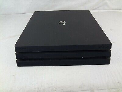 Sony PlayStation 4 PS4 Pro 1TB Black CUH-7115B w/Controller (Software 7.02)