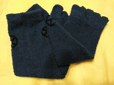 X-Men Fuzzy Socks Marvel Collector Corps Exclusive with toes Dark Blue Comfy