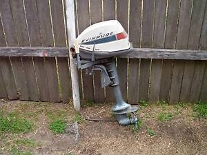 OLD OUTBOARD 5HP MOTOR Caringbah Sutherland Area Preview