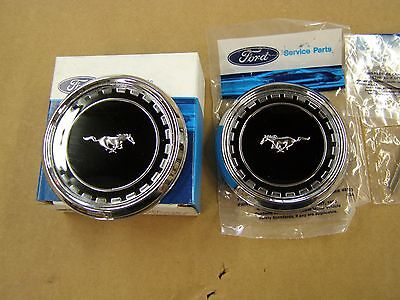 - NOS OEM Ford 1969 Mustang Fastback Roof Side Ornaments Emblems Mach 1