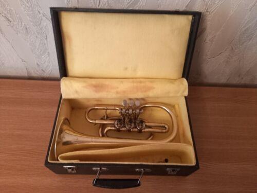Old cornet of the Kiev factory 1980s USSR.