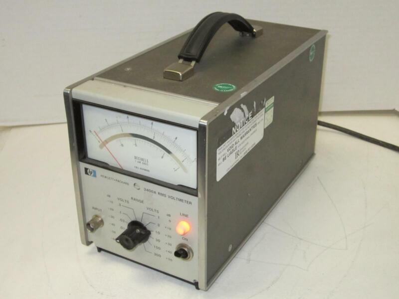 HP HEWLETT PACKARD 3400A Voltmeter