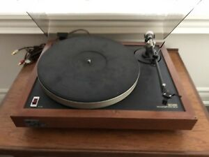 Vintage Ariston Audio RD80 SL Transcription Turntable Record