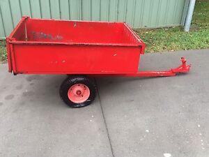 Box trailer for ride on mower or quad bike Blackalls Park Lake Macquarie Area Preview