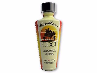Ed Hardy Caribbean Cool Dark Natural Bronzer Tanovations Tanning Bed Lotion 11oz Naturally Dark Tanning Lotion