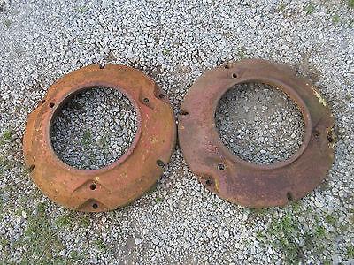 John Deere Mt 40 420 430 T I W V Rear Wheel Weights M926t Set Of 2