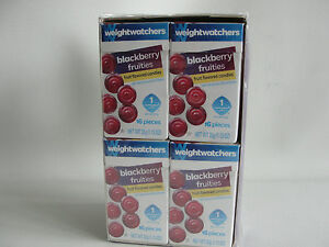 Weight Watchers Fruities Candy BLACKBERRY -  (16) Boxes = 1 Sealed Carton