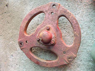 Farmall B Bn Tractor Original Pairset Ih Front Cast Wheel Hub Cap