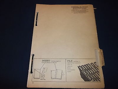 John Deere 95 Series Combine Parts Manual Book Pc-580