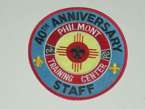 Philmont Training Center staff 40th anniversary