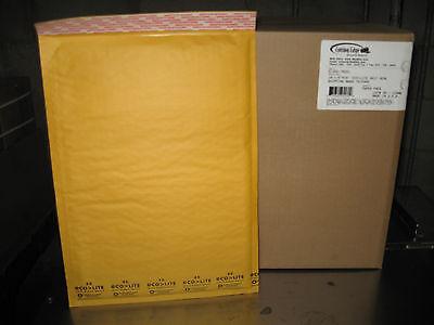 100 5 Eco-lite Kraft Bubble Mailers W Free Shipping