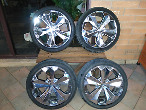 Vault wheels with tyres Balaklava Wakefield Area Preview