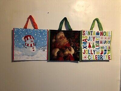3 Large Christmas Holiday 16.5