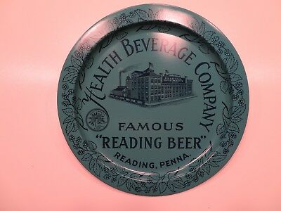 Vintage Reading Beer Tray, Health Beverage Company, AWESOME CONDITION