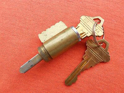 Schlage Original Knob Lever Cylinder. Chrome 626. 2 Keys. 6 Pin Cylinder.