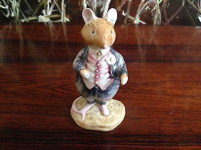 Royal Doulton Brambly Hedge, Fine Porcelain Mouse - Dusty Dogwood