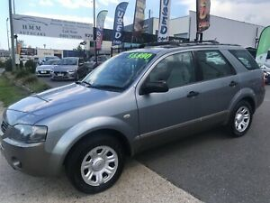 2005 Ford Territory TX (RWD) Coopers Plains Brisbane South West Preview