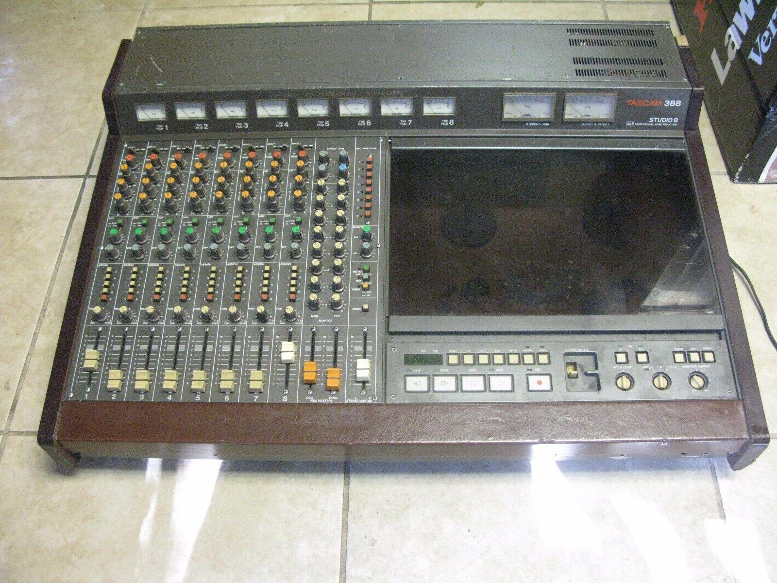 Tascam 388 Studio 8 Tape ....<br>