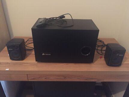 Corsair SP2500 2.1 high quality PC speakers