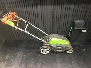 Green works Electric Lawnmower