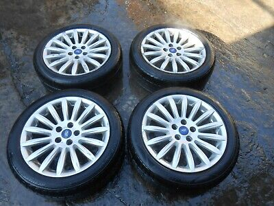 "FORD FOCUS/MONDEO/CONNECT 17"" 5 STUD ALLOY WHEELS 205/50/ZR17"