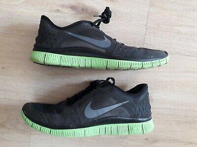 Nike FREERUN 3 FREE RUN Laufschuhe Laufen Größe 42,5 schwarz grün