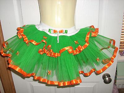 Ladies Womens Irish Ireland St Patrick's Fancy Dress Tutu Skirt Costume