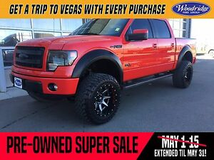 2014 Ford F-150 Lariat PRE-OWNED SUPER SALE ON NOW! LIFT TRUC...