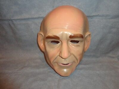 Star Trek Jon Luc Picard Jean Luc  Halloween PVC Mask Child