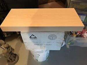 IKEA floating shelves (x3)