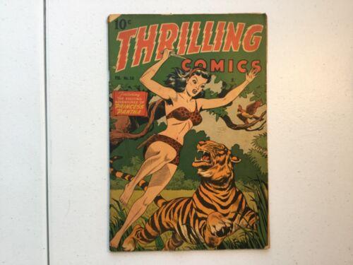 Standard Magazines 1946 Thrilling Comics 58 Alex Schomburg CA Princess Pantha