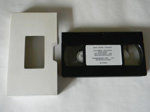 Kate Bush Promo Video Eat The Music 3:38 Rubberband Girl 4:07 Sony W.O.9690 VG++