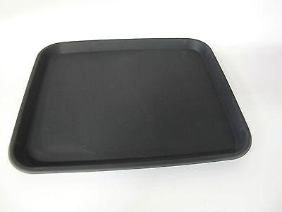 Tablett Mehrzwecktablett Gastrotablett 32,8 x 27 x 2 mit Antirutschbelag