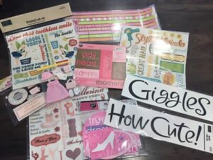 Scrapbook Sets for Girls & Baby Girl