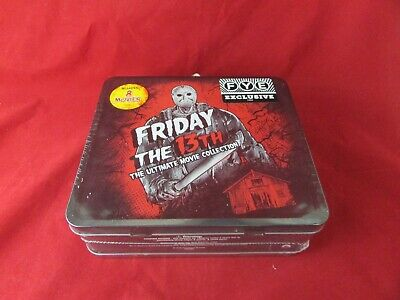 Friday the 13th 8-Movie Collection with Collectible Lunchbox -  Exclusive - NEW