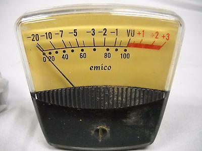 Vintage Emico Amp Meter Circa 1974
