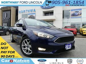 2016 Ford Focus SE | REAR CAMERA | HEATED SEATS | LOW KM |