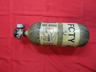 MSA Stealth H-45 45 min 4500 PSI Carbon SCBA Air Bottle Cylinder Tank Mfr 2005