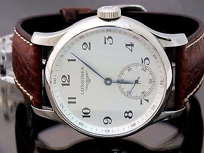 The Longines Master Collection Watch Men's Big 47mm Mechanical Wind Registered