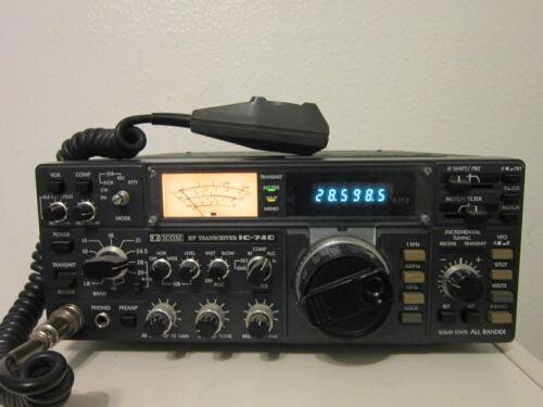 ICOM HF TRANSCEIVER IC-740