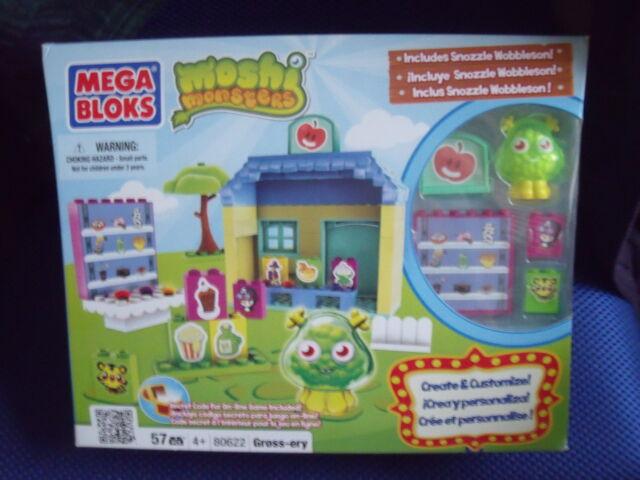 BNIB Mega Bloks - Moshi Monsters - Grossery #80622 - 57 pieces