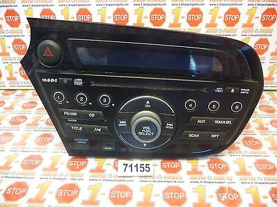 10 11 12 13 14 HONDA INSIGHT AM/FM CD PLAYER RADIO 39100-TM8-A01 OEM