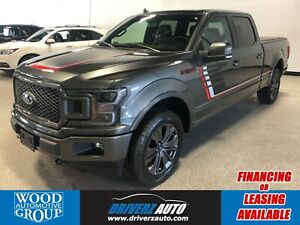 2018 Ford F-150 Lariat **CLEAN CARFAX** ADAPTIVE CRUISE, 360...