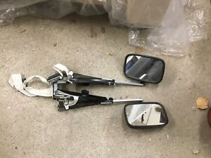 RV towing mirror extensions